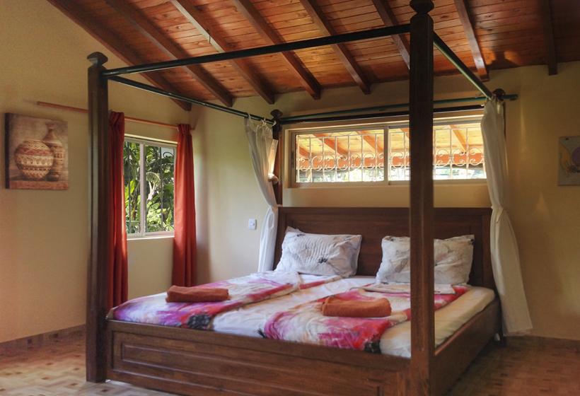 Slaapkamer villa