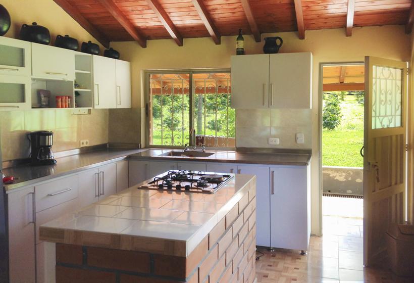 Keuken vakantiehuis Colombia